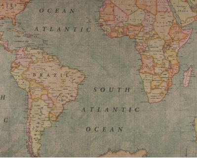 Panamá Mapa Mundo 1