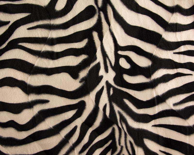 Imitação de Pêlo Zebra