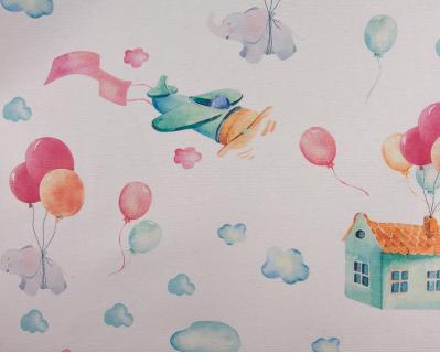 Loneta Balões e Nuvens 1